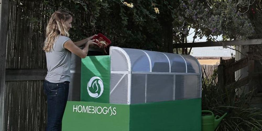 HomeBiogas claims its digester can digest up to 6 liters of food waste or 15 liters of animal manure to create around 3 hours worth of clean cooking gas per day