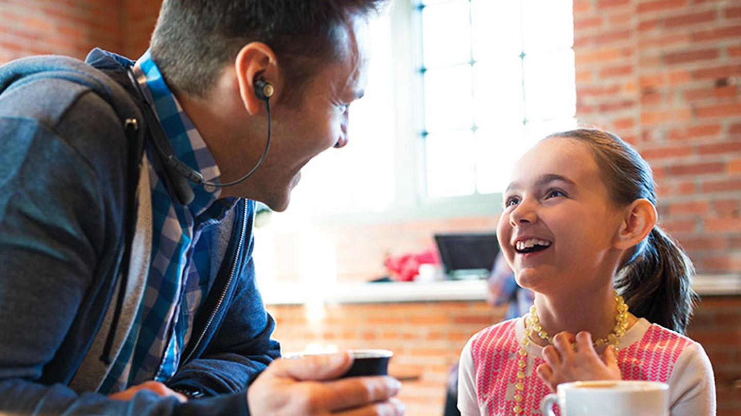 Bose Hearphones let you selectively boost the volume of one-on-one conversations while canceling out loud background noise