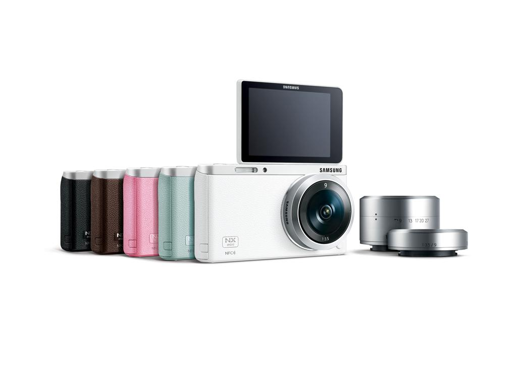 The 20 megapixel Smart Camera NX mini from Samsung