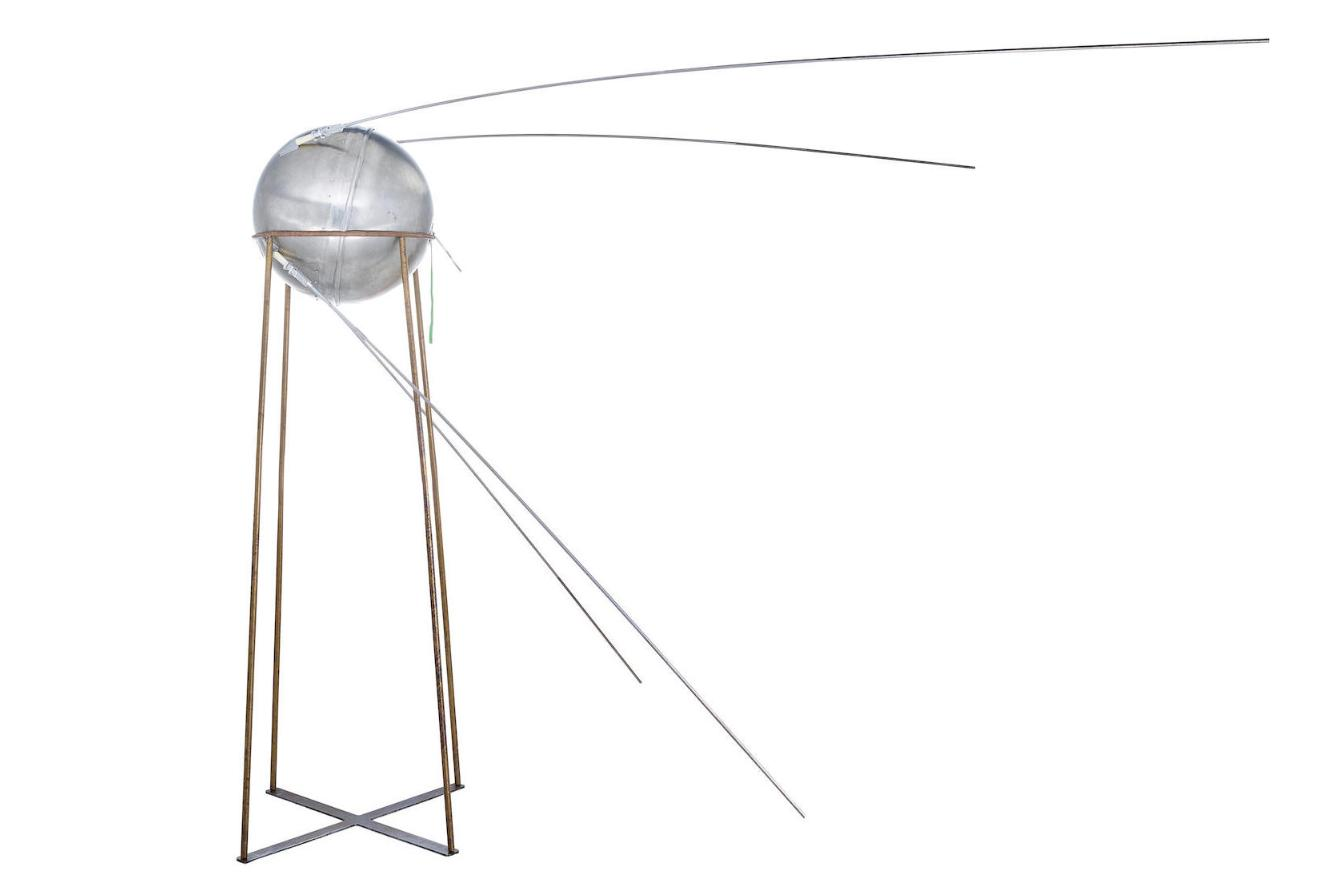Bonhams will hold The Air and Space Sale, on September 17, 2019, highlighted by an exceptionally rare vintage test model of the Sputnik-1 satellite (estimate: $400,000-600,000).