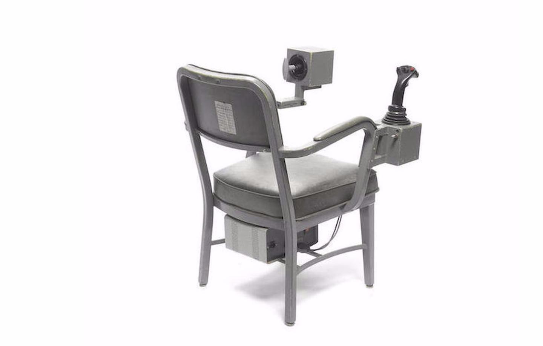 NASA flight simulator chair
