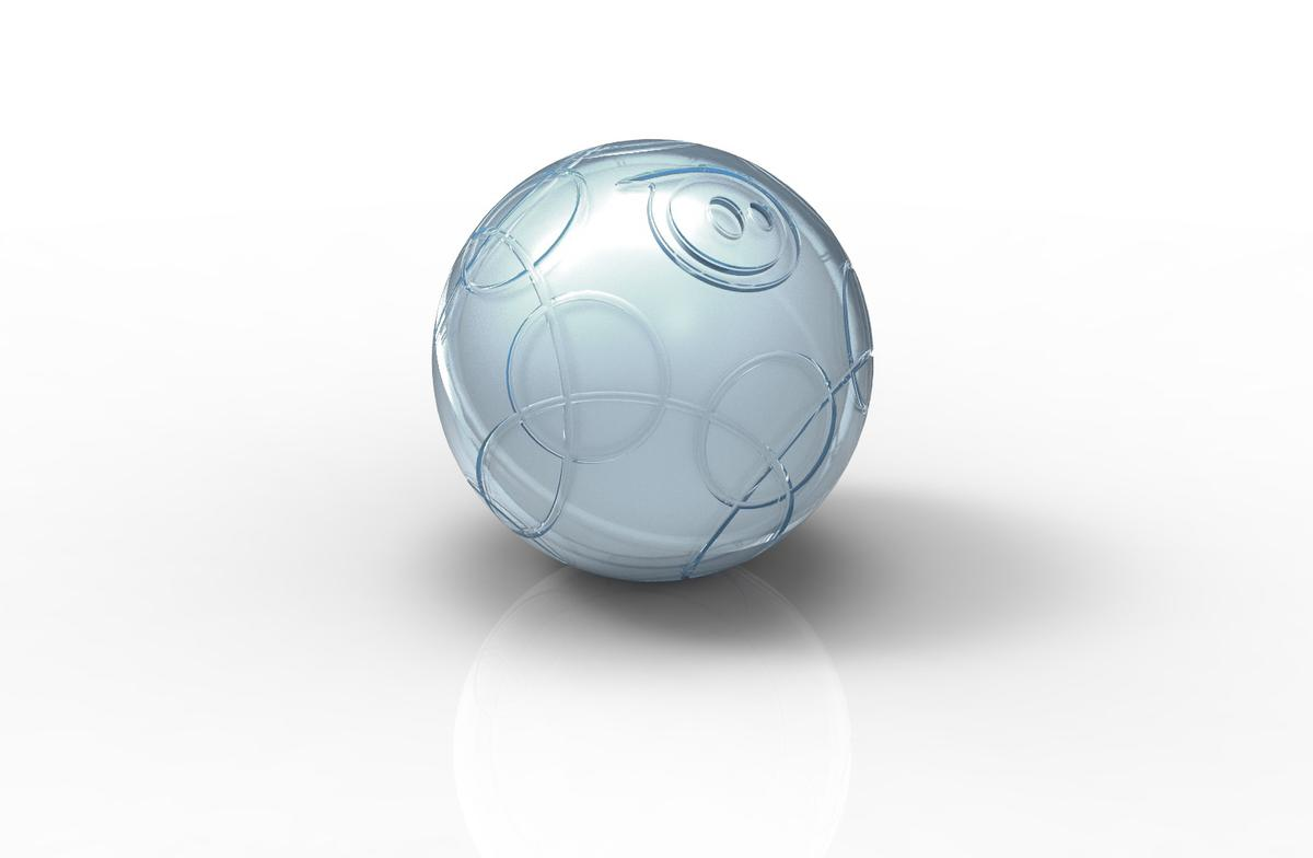 Rendering of Sphero, the smartphone-controllable ball