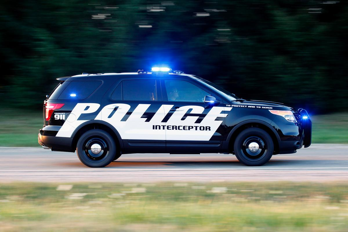 Ford's new Police Interceptor utility