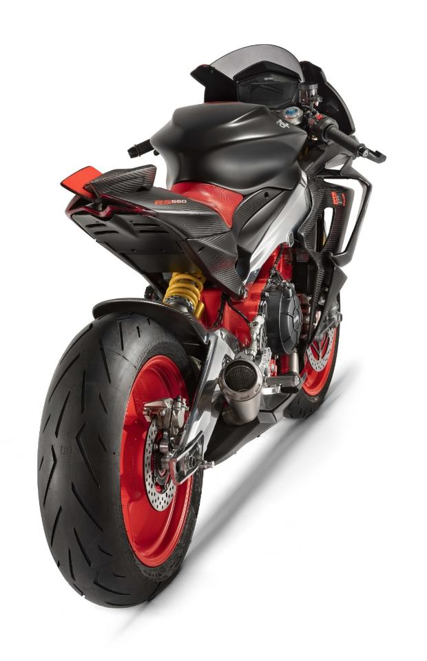 Aprilia Concept RS660: a slim and lightweight middleweight sportster