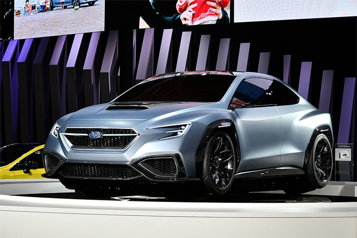 Subaru Looks At The Future Of Sports Sedans With Viziv
