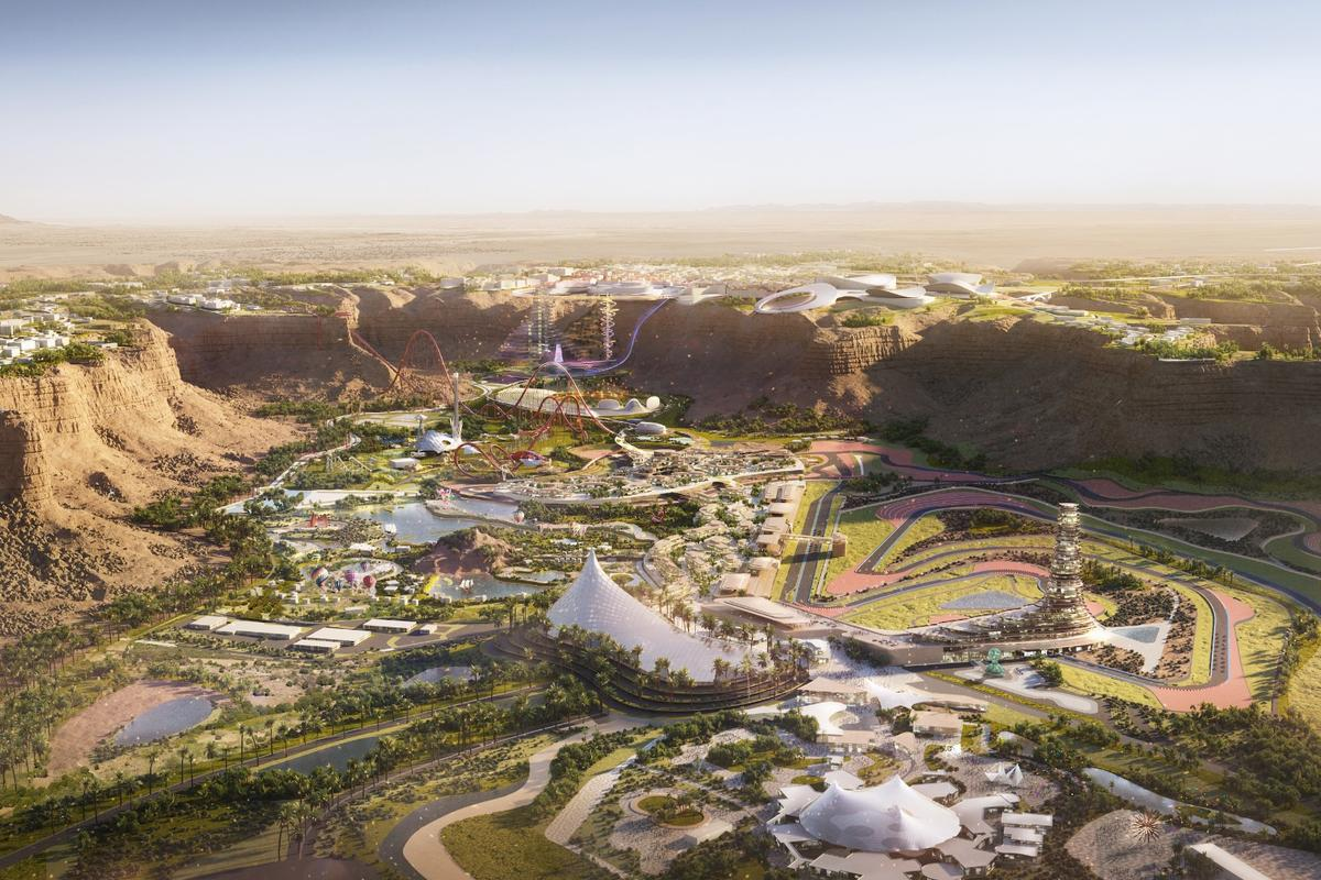 Qiddiyabroke ground in April 2018and its first phase is set to open in 2022, with completion planned by 2030