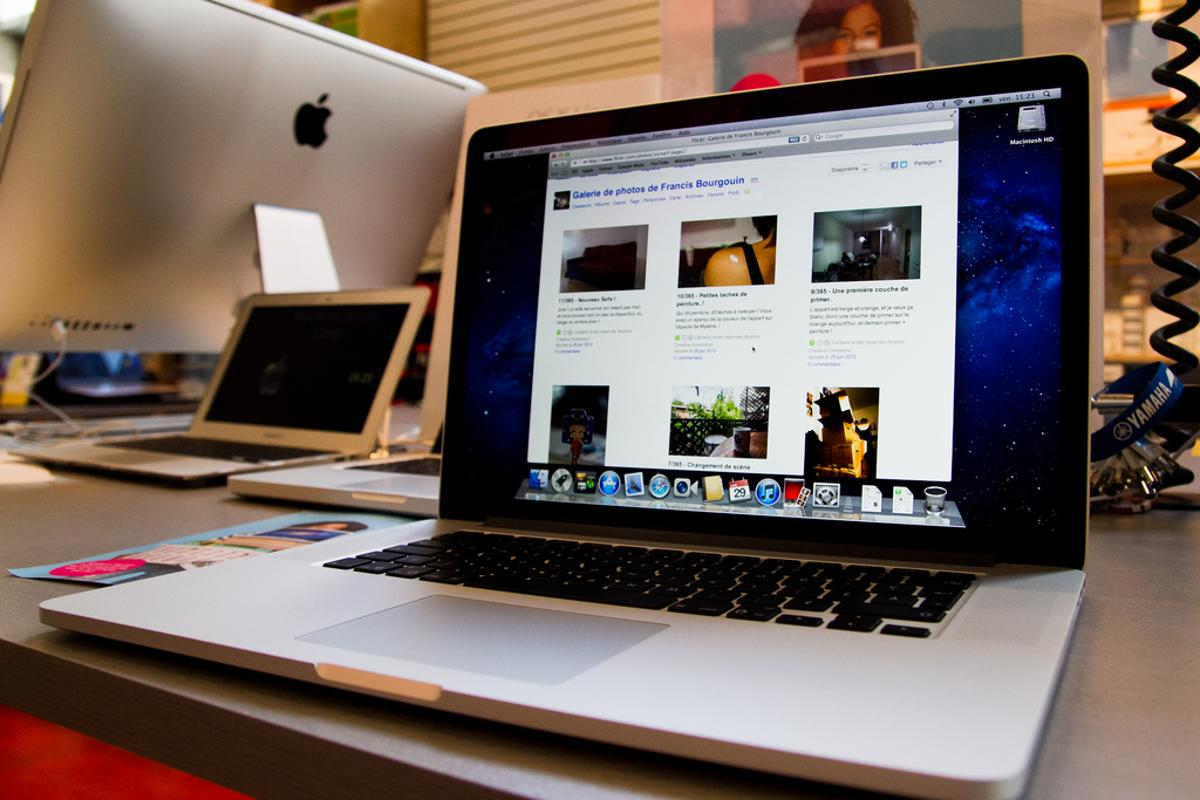 Retina MacBook Pro: a Gold standard product? (Photo: Francis Bourgouin)
