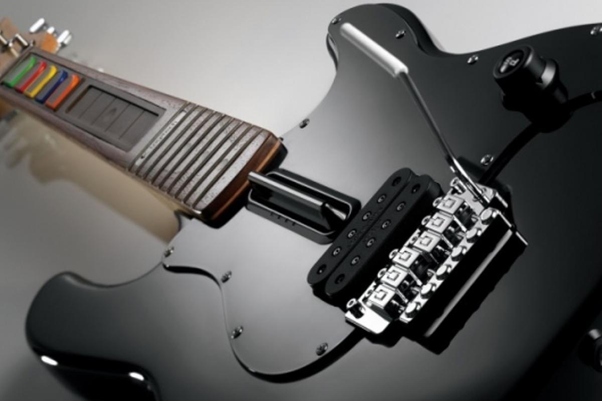 Logitech's Wireless Guitar Controller