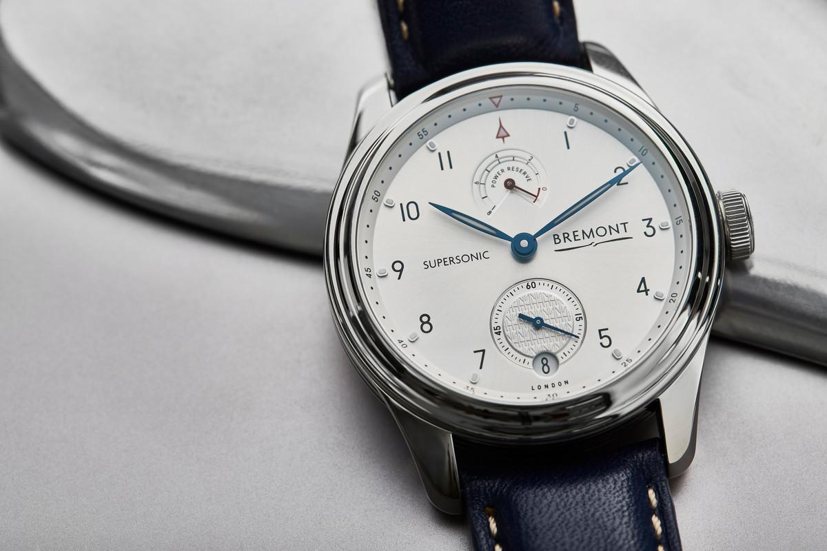 The Bremont Supersonic commemorates the 50th anniversary of Concorde
