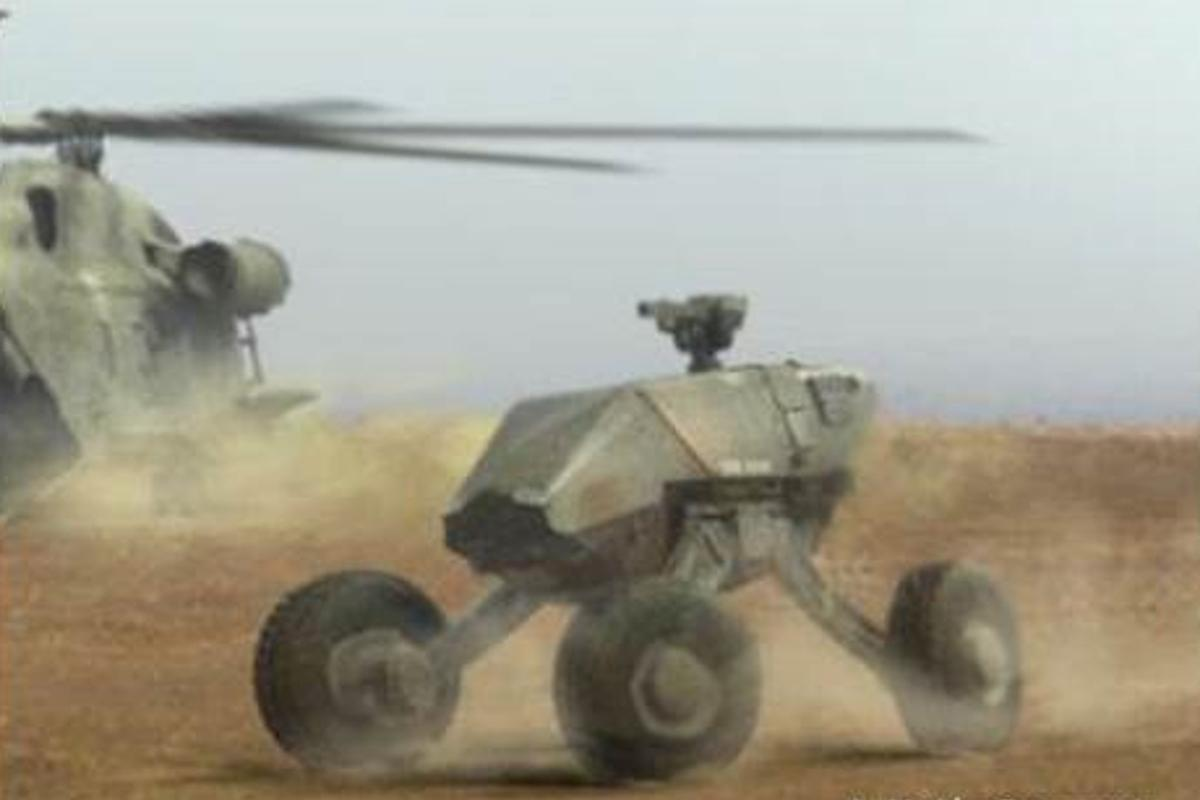 GXV-T aims to make tanks half as heavy and twice as fast (Image: DARPA)