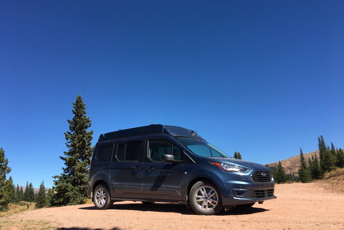 Ursa Minor pops the top on the Ford Transit Connect to