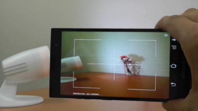 Fujitsu's system requires users to simply point their mobile device's camera at the item in question