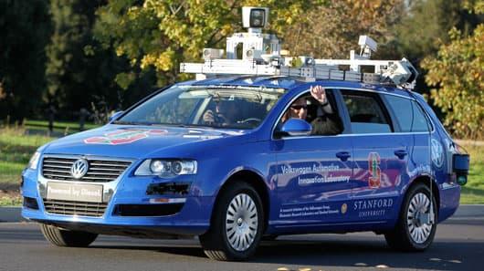 """Hands-free Driving"" by Steve Jurvetson"