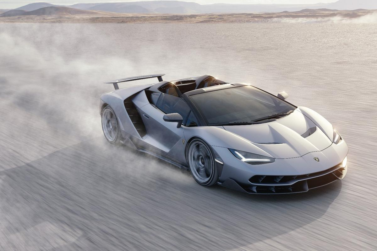 The Centenario Roadster is a high-quality birthday present