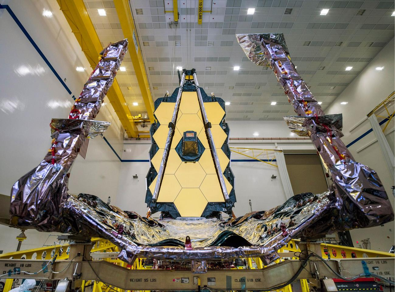Following more than two decades of design and construction, engineers have put the final pieces in place for NASA's next generation orbiting observatory, the James Webb Space Telescope