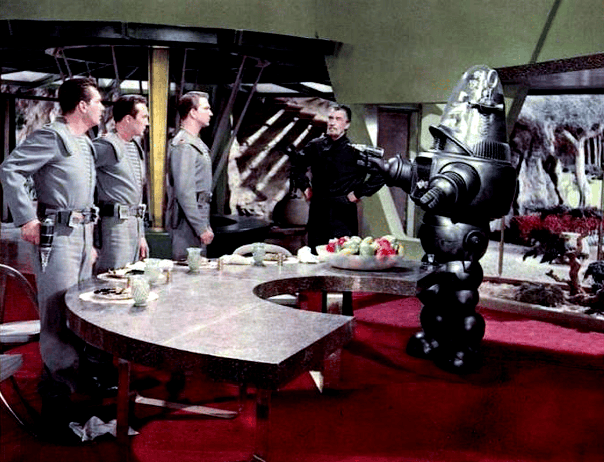 """Robby starred in the 1956 science fiction feature """"Forbidden Planet"""""""