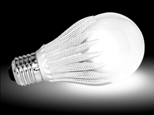 The GeoBulb LED light bulb