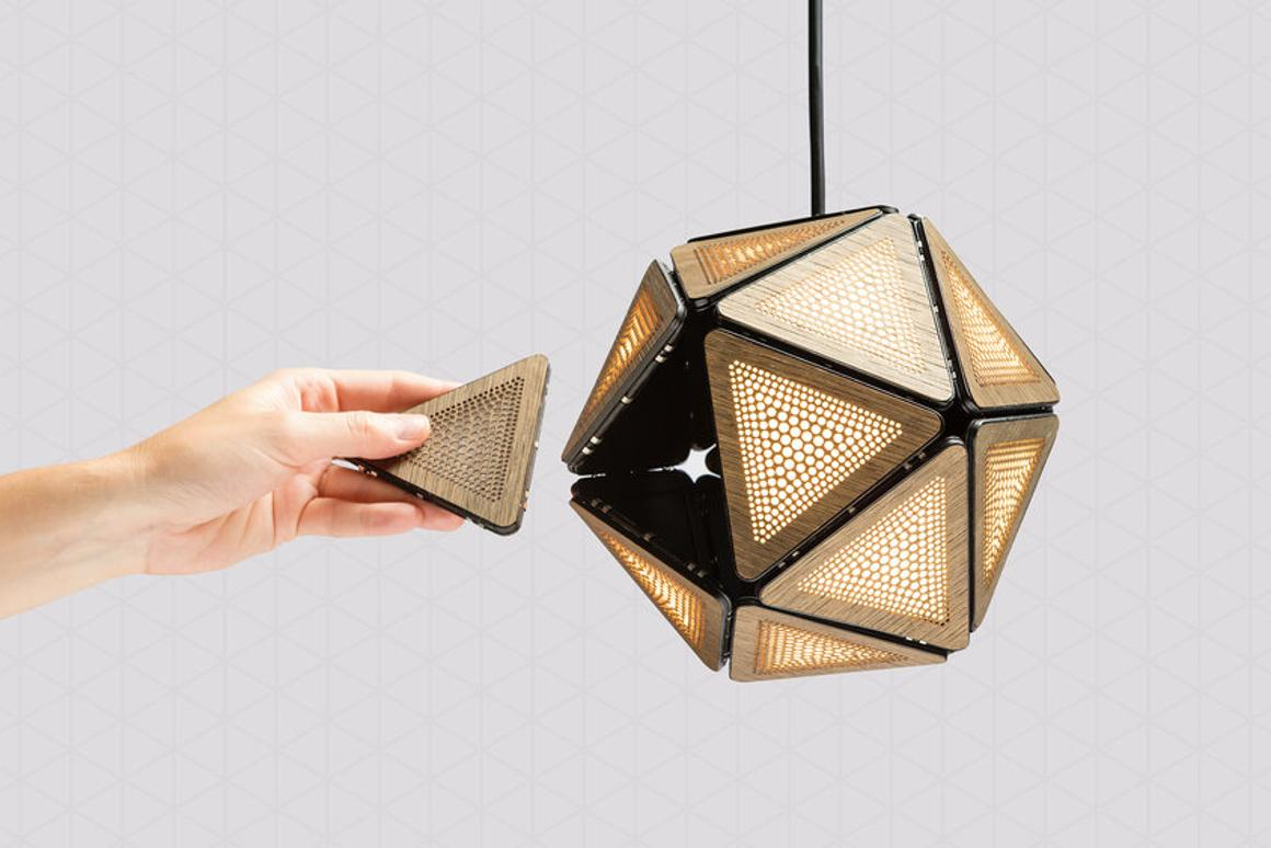 Though described as a light bulb, Smartbunch is really more a self-illuminating light fitting