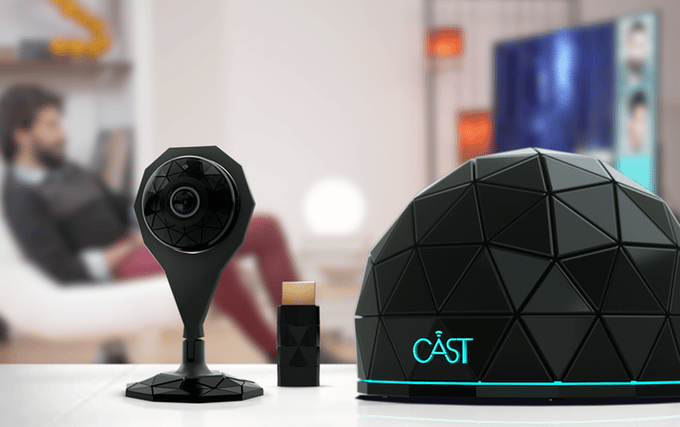 The Cast Hub allows up to six mobile devices to watch the same streaming content
