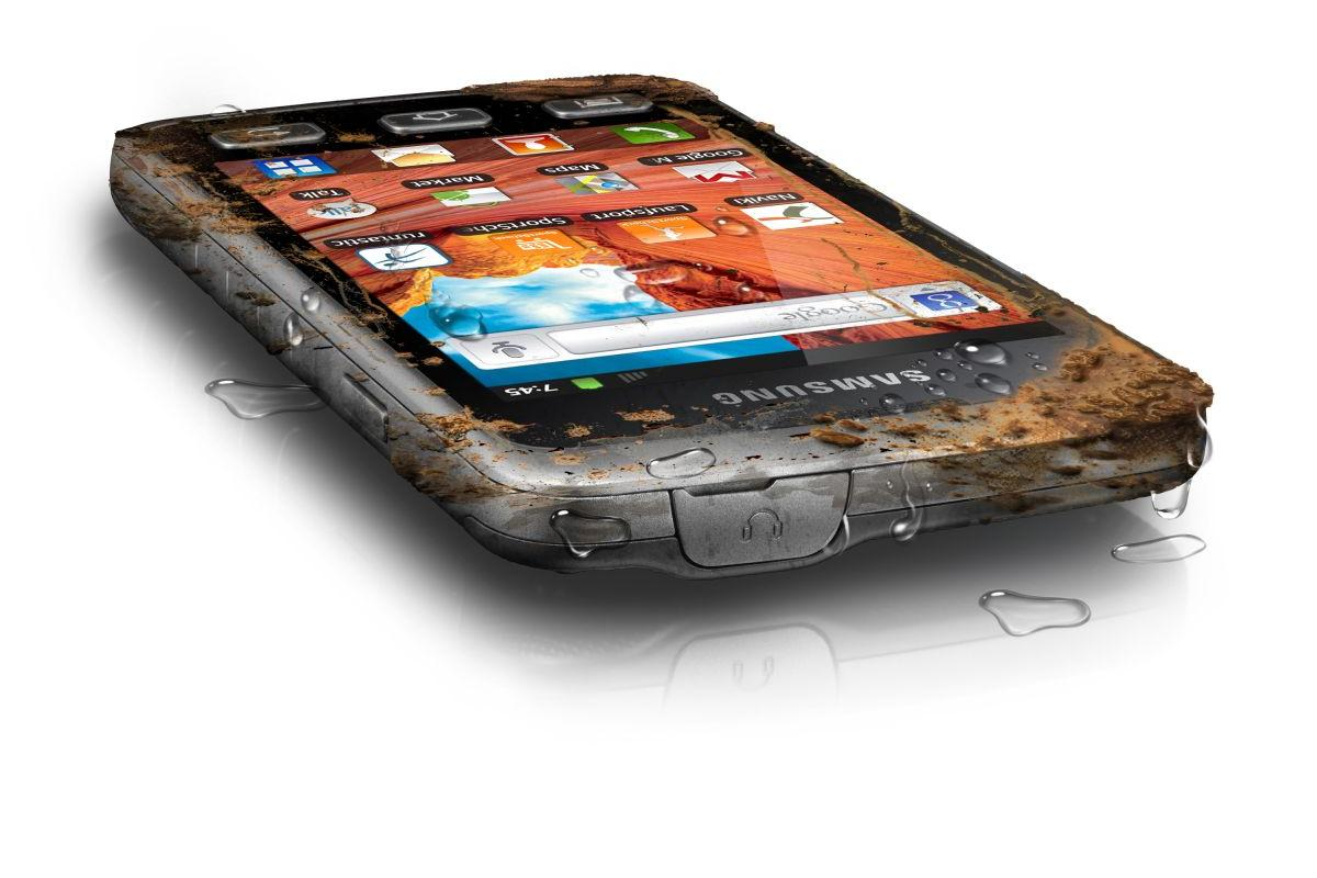 The IP67-certified Samsung Galaxy Xcover will be one of the world's few rugged Android touchscreen smartphones