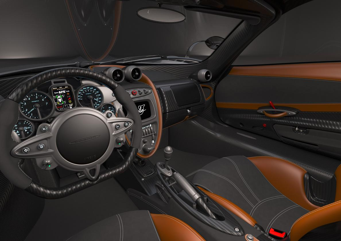 A rendering of the Imola's interior