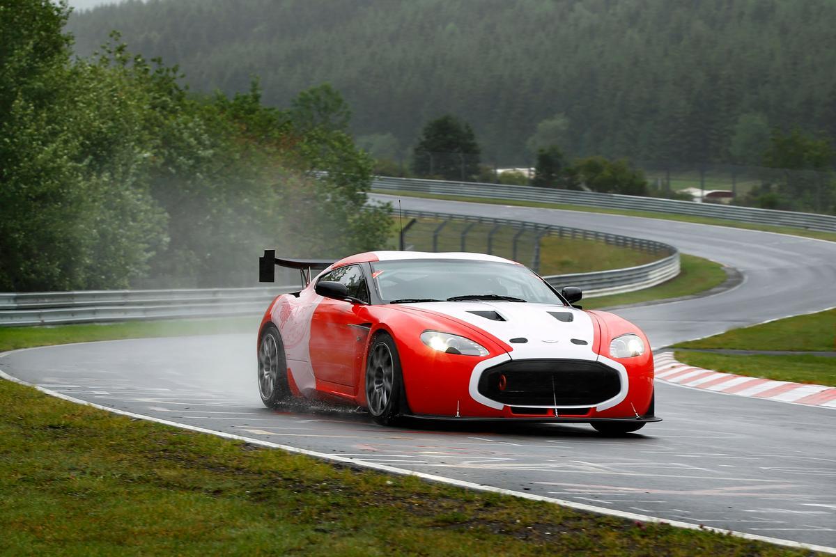 Aston Martin's V12 Zagato