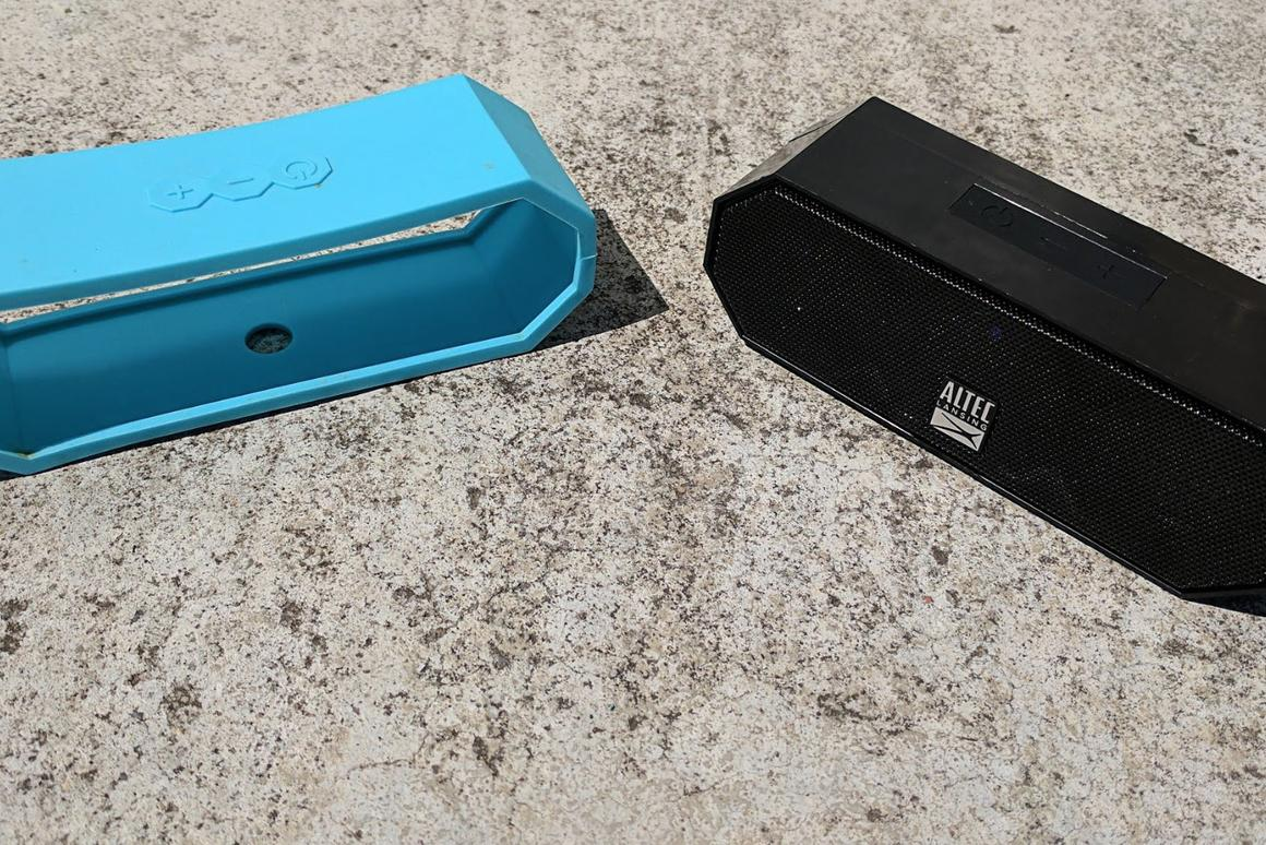 Review: Altec Lansing's rugged Jacket H20 is almost toddler