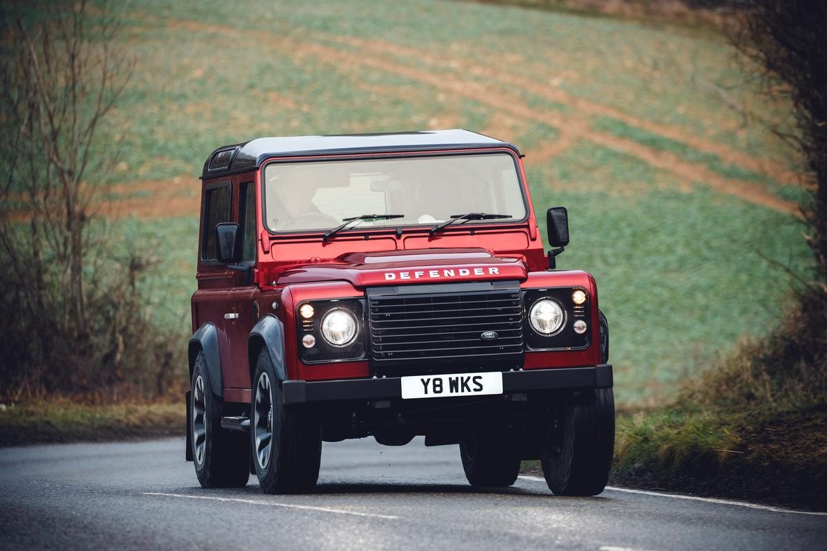 Land Rover's limited-edition70th anniversary400-hp Defender Works V8