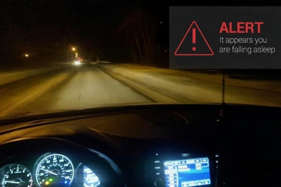 DriveSafe uses the eyewear's built-in sensors to detect when the driver is falling asleep, sounding an alert through Google Glass' bone conduction speaker