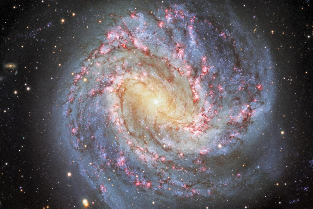 This shot of the Southern Pinwheel galaxy is likely similar to what an alien civilization would see when observing the Milky Way from afar