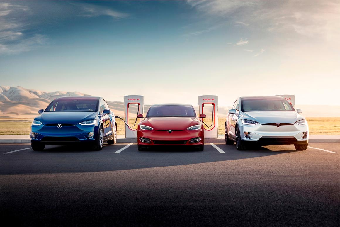 Tesla's V3 Superchargers will provide its Model 3 Long Range version with up to 75 mi (120 km) of range with just five minutes of plug-in time