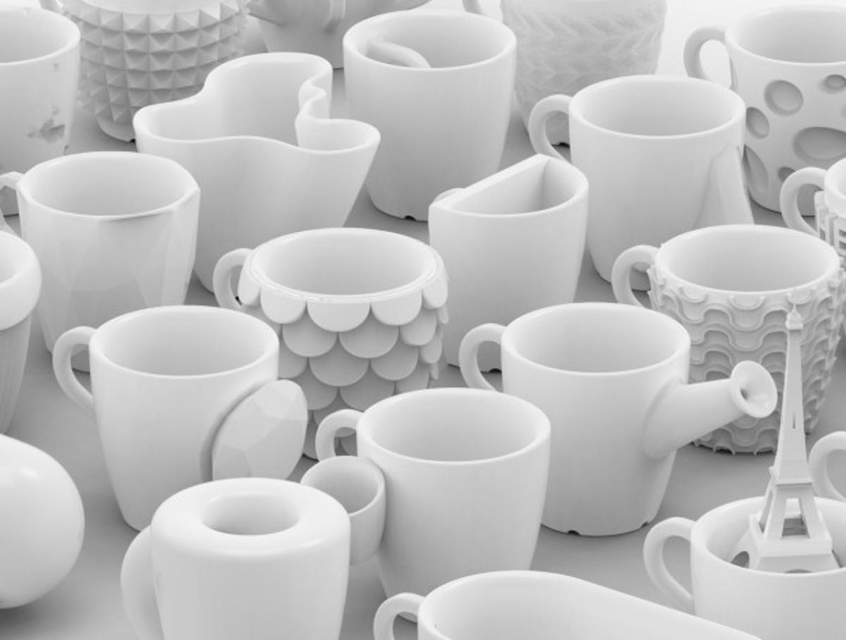 Designer Bernat Cuni made one cup a day for thirty days(Image: Cunicode)