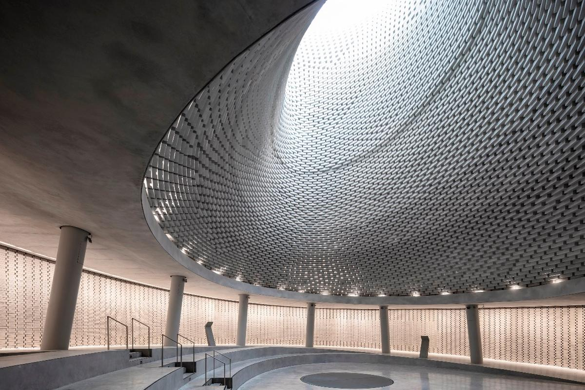 Mount Herzl Memorial Hall, Jerusalem, Israel, by Kimmel Eshkolot Architects In collaboration with Kalush Chechick architects