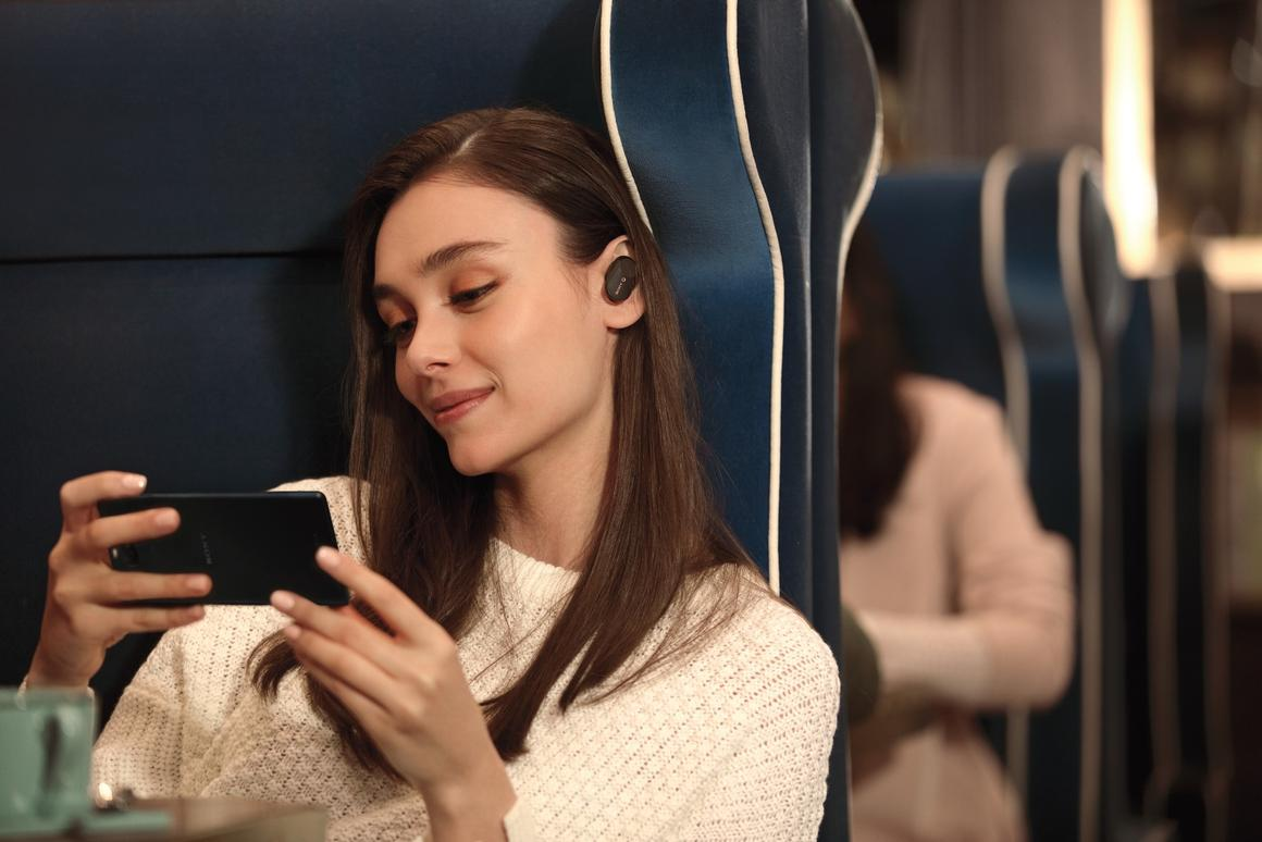 Sony has squeezed the latest QN1e noise canceling processor into its WF-1000XM3 true wireless earphones for blocking ambient sounds across almost all frequencies