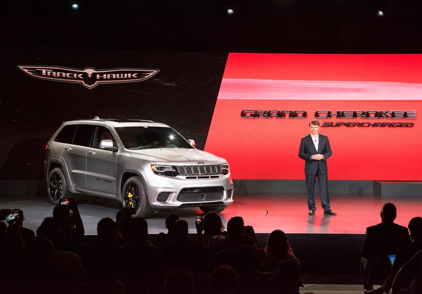Jeep revealed the Grand Cherokee Trackhawkat the New York Auto Show back in April