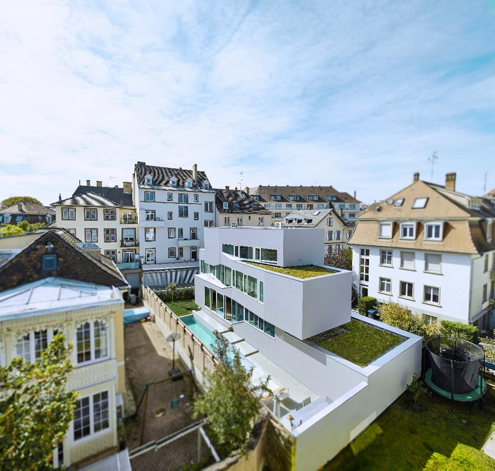 The home is located in Strasbourg, France