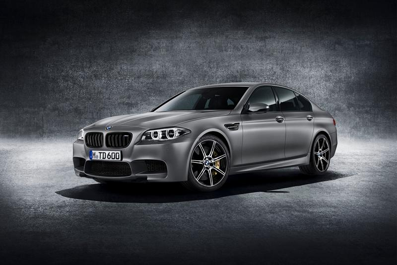 The 30 Jahre Edition M5 will retail from US$138,275