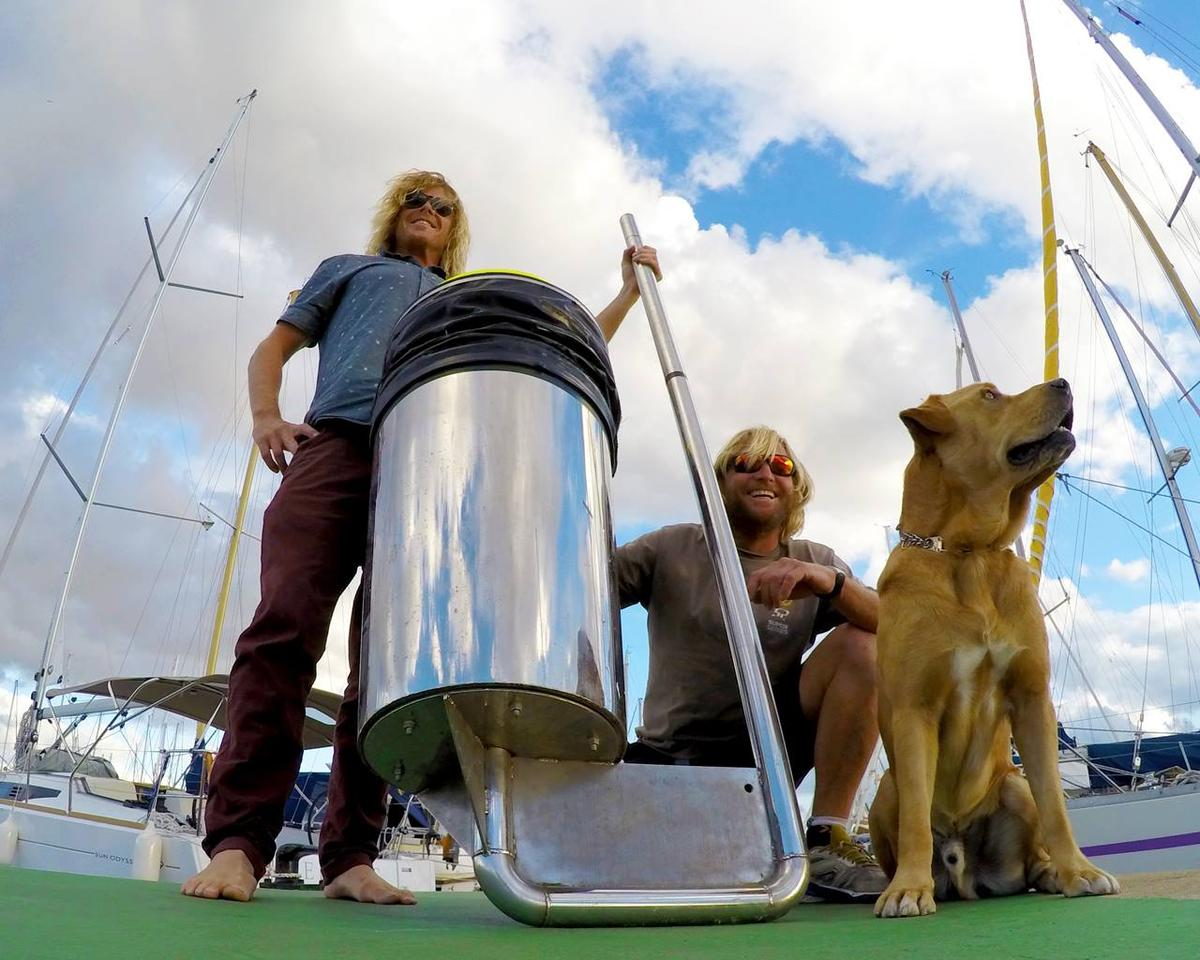 The Seabin is a basically a water filtering system designed for contained marine environments