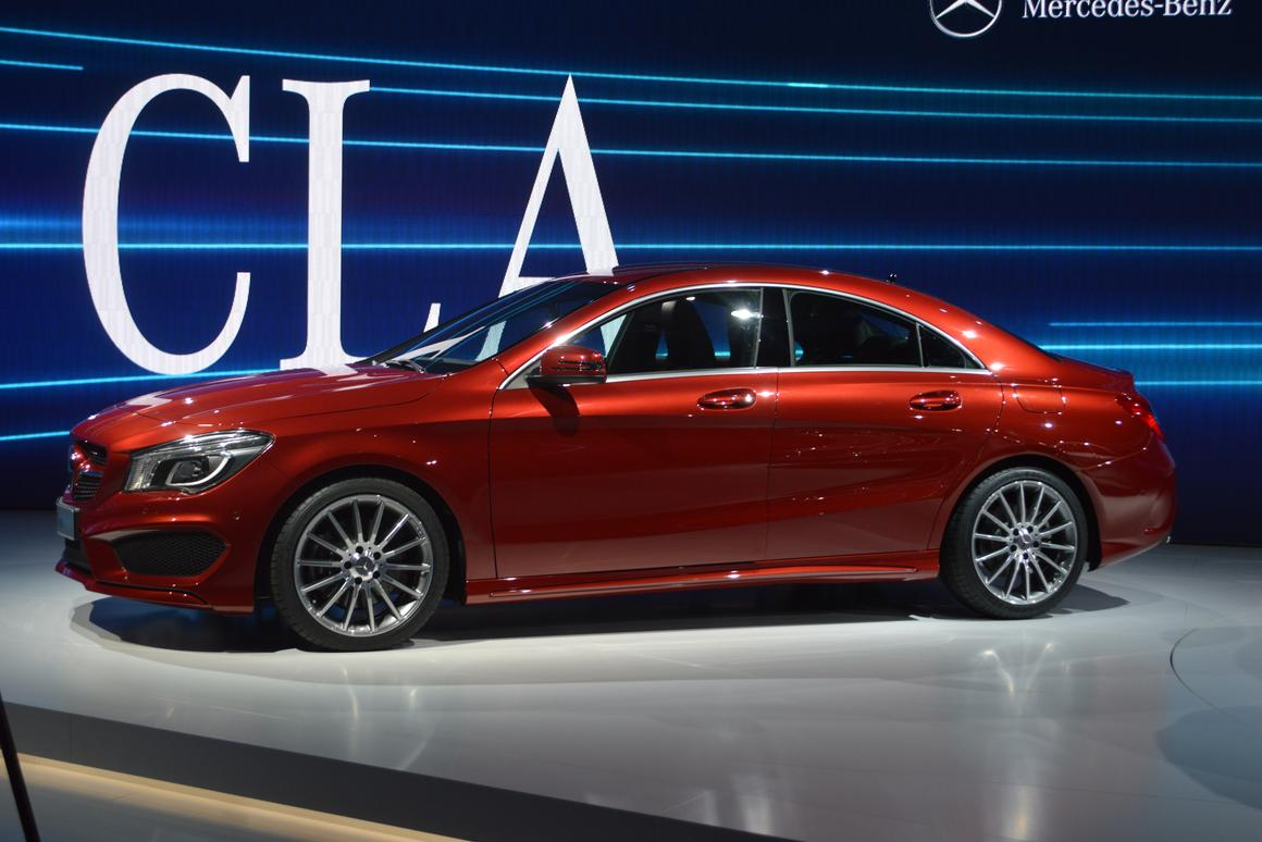 The CLA-Class is a new entry level Mercedes designed for a younger crowd