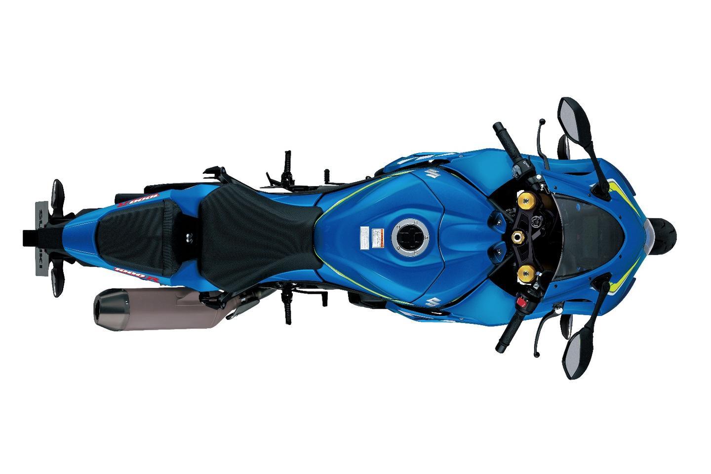 Suzuki GSX-R1000 L7: top view