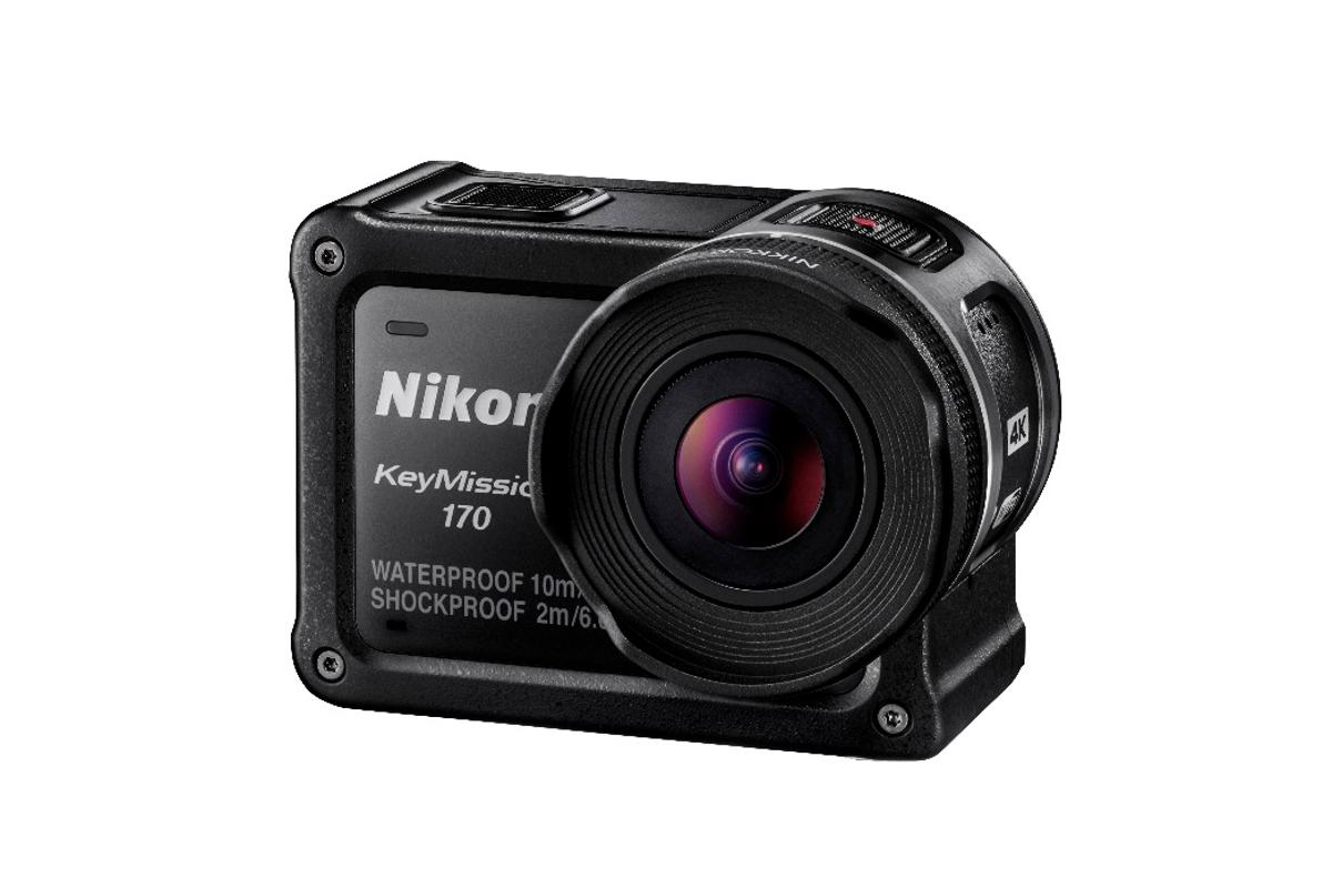 Nikon has unveiled three new action cameras at Photokina, including the KeyMission 170