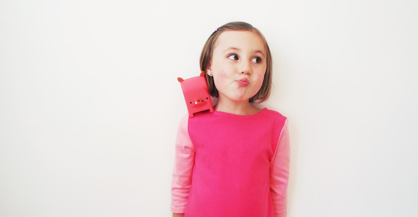 Mailmen toys can receive audio messages sent via an app and play them out loud to the child (Photo: Toymail Co)