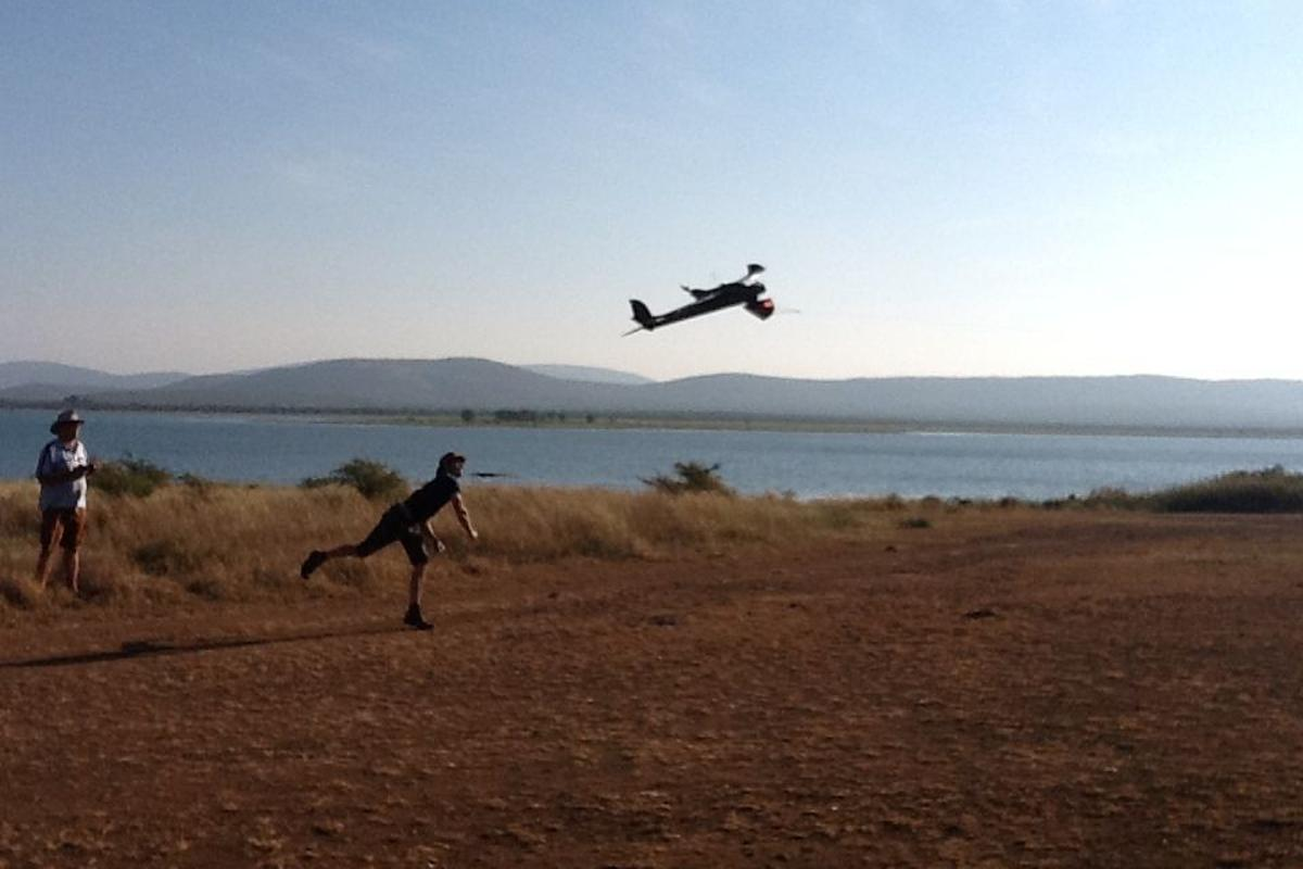 Air Shepherd's system uses unmanned aerial vehicles (UAVs) with infrared cameras and GPS to put poachers in its sights (Photo: Air Shepherd)