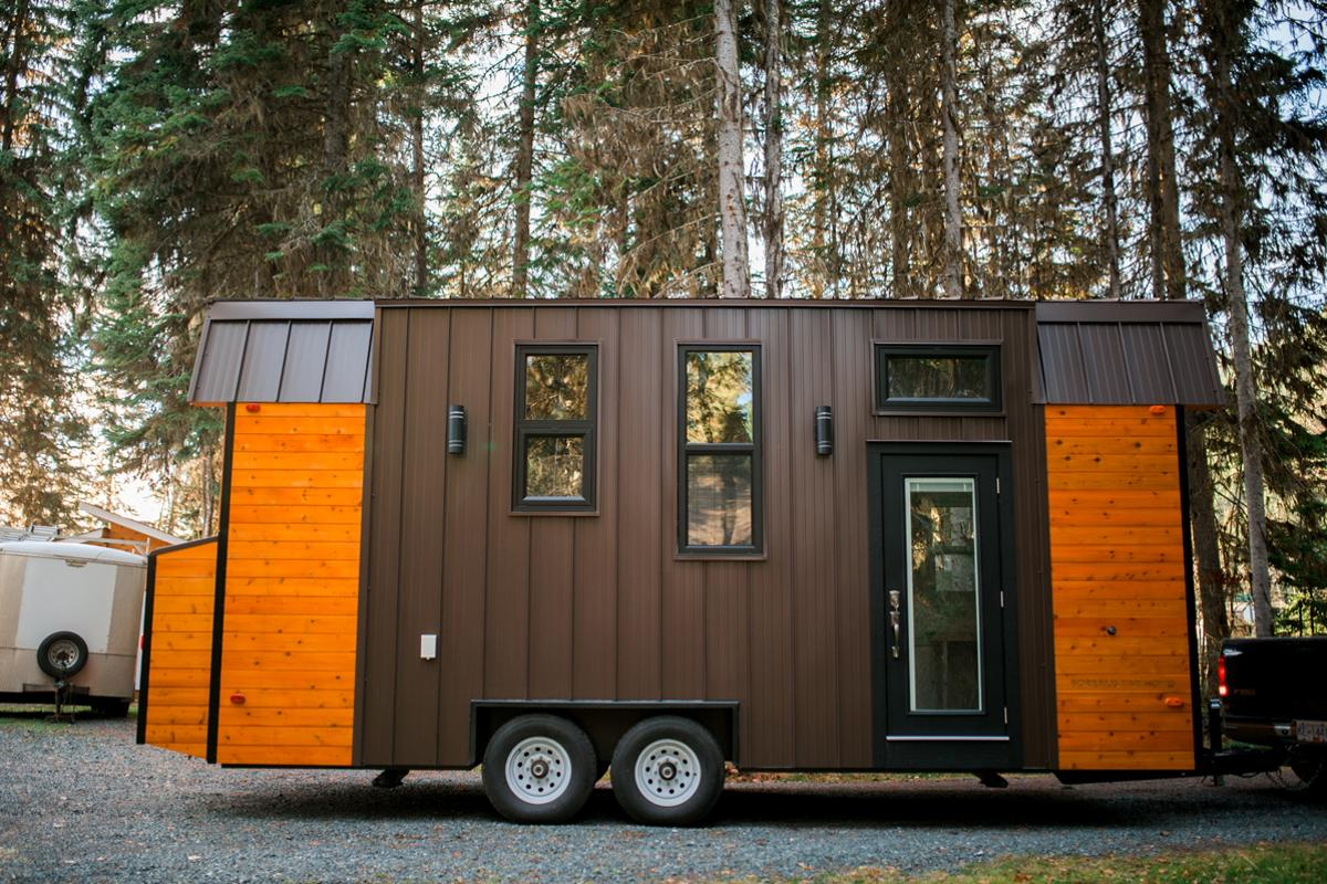 Borealis Tiny Homes told us that the Aspen is designed to handle aCanadian winter