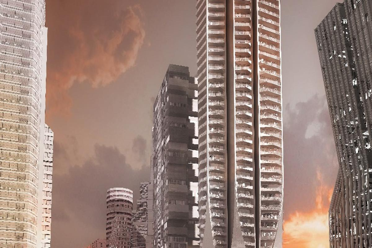 TheBora Residential Towerwill be the tallestresidential tower in Mexico City