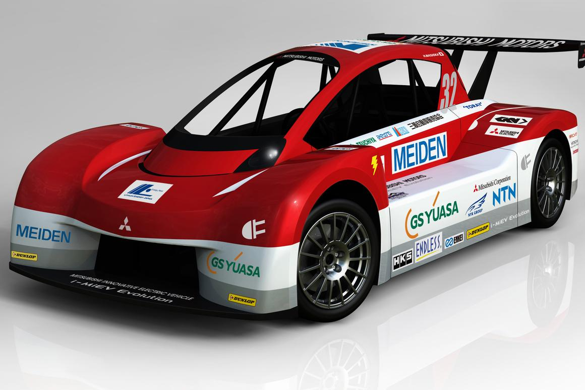 Mitsubishi i-MiEV Evolution has been specially developed for the Pikes Peak International Hill Climb