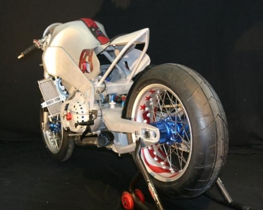 XBRR Chronos custom racebike