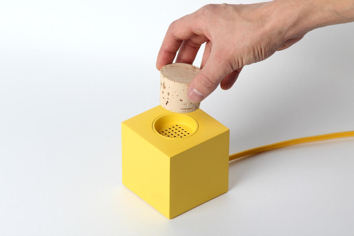 Plugg was created by Norwegian design duo Theo Tveterås and Lars Marcus Vedeler (Photo: Skrekkøgle)