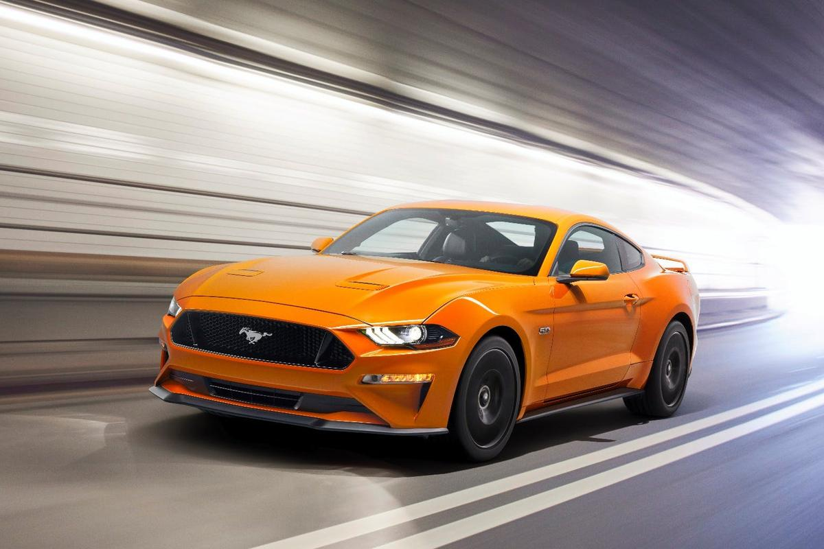 The new Ford Mustang V8 has a special Drag Strip mode
