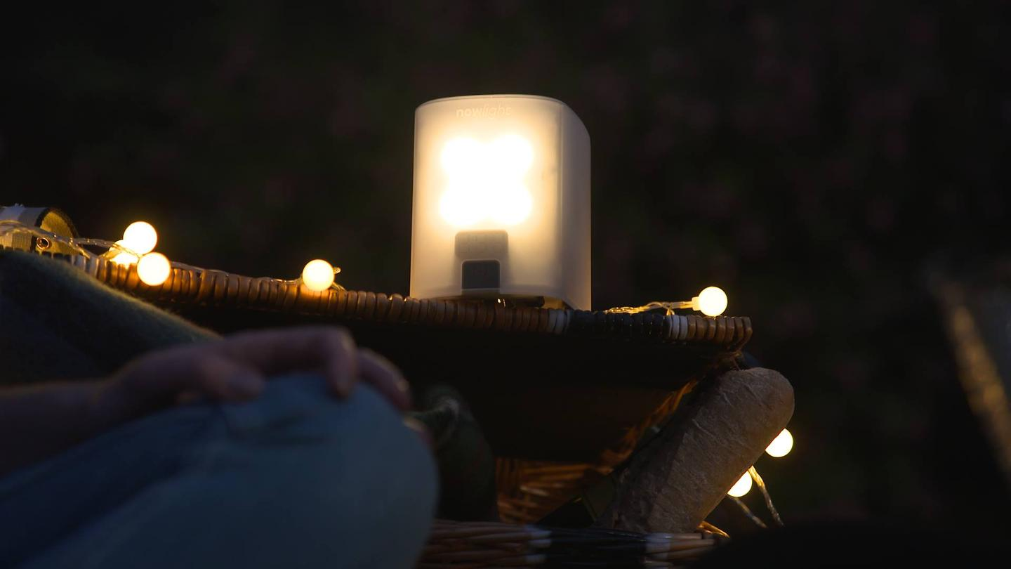 Want more lights than the NowLight + four SatLights — plug in a USB light strand
